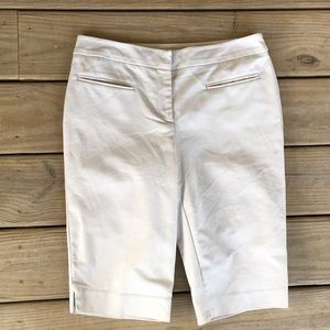 Chico's Flat Front Bermuda Shorts